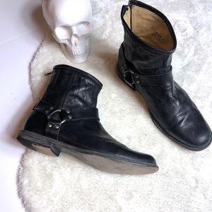 🍁 Frye | Philip Harness Leather Ankle Boot 11